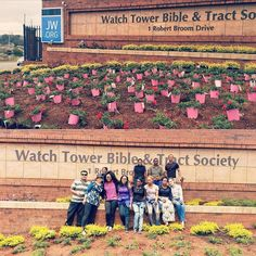 Gardening at South Africa Bethel. Photo shared by @kasulwa