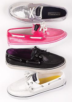 Sparkly sperrys ... I have navy blue ones (:#Repin By:Pinterest++ for iPad#