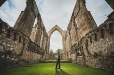Kate and Chris Pre-Wedding Shoot at Bolton Abbey 015