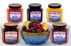 Blue Ridge Jams: Preserves Variety Pack, Set of 5 (10 oz Jars)