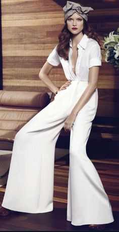 chic, easy pieces: kasia struss by paola kudacki for us harper's bazaar december 2013 Beauty And Fashion, White Fashion, Look Fashion, Passion For Fashion, Womens Fashion, Carolina Herrera, Mode Chic, Mode Style, Mode Editorials