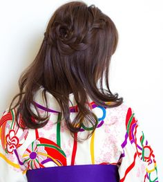 today's hair style☆  右サイドは編み込みからの花びらアレンジを入れたハーフアップスタイル☆ 袴、和装、卒業式など 洋装でもいけちゃうスタイルです(^^) . 衣裳協力 @bphotoworks @shimazu.5160  ありがとうございました。  #ヘアセット #セット #ヘアアレンジ #アレンジ #ハーフアップ #ウォーターフォール #編み込み #ワンカール #ヘアアクセサリー #シンプル #和装 #卒業式 #結婚式 #ルーズ  #フェミニン #ブライダル #パーティー #二次会 #ファッション #メイク #ありがとう #京都 #京都駅前 #美容室 #t2style #love #hairset  #courarir #courarirkyotoekimae #kyoto