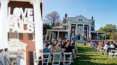 Because love is in the air. | 40 Awesome Signs You'll Want At Your Wedding