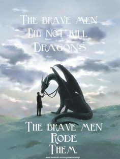 I hope you'll be brave and ride dragons in your dreams, fairies!