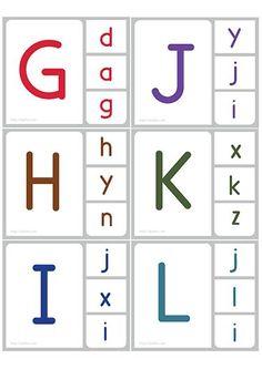 cheznounoucricri - Page 50 Letter Recognition Kindergarten, Alphabet Activities Kindergarten, English Worksheets For Kindergarten, Preschool Literacy, Alphabet Worksheets, Phonics Activities, Kindergarten Worksheets, Kindergarten Handwriting, Handwriting Practice