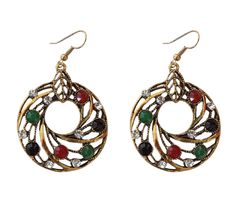 Hollow-Round-Earrings