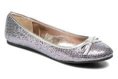 Bailarinas I Love Shoes Thapaïdé Plateado - Sarenza.es (223655)