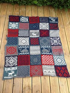 Ravelry: onlydreaming's Porthchapel Knit Or Crochet, Crochet Motif, Crochet Crafts, Yarn Crafts, Sewing Crafts, Knitted Afghans, Crochet Blanket Patterns, Knitted Blankets, Knitting Patterns Free