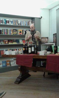 Libreria Volante @ Lecco - aprile 2016. Presentazione di Sulla blasfemia con Ivano Porpora che ha scritto il Dispetto inedito