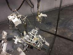 Spray chromed Wiper motor and a fuel pump http://www.chromefactorylv.com/