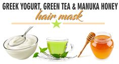 DIY Greek Yogurt, Green Tea, and Manuka Honey Hair Mask For Strengthening and Growth  Read the article here - http://www.blackhairinformation.com/hair-care-2/hair-treatments-and-recipes/diy-greek-yogurt-green-tea-manuka-honey-hair-mask-strengthening-growth/