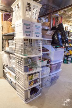 How to Declutter a Basement and…Keep It That Way!