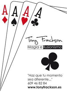 Si quieres contratar un mago en Badajoz para cumpleaños, fiesta de verano, fiesta infantil, magia para bodas, comida de empresa u otro evento...La Magia de Tony Frackson en Badajoz.