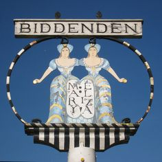 Biddenden village sign © Oast House Archive cc-by-sa/2.0 ...