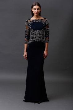 Badgley Mischka Pre-Fall 2015 Fashion Show: Complete Collection - Style.com
