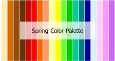 spring - What Colors Suit Me? Find out the color palette that brings out your best features!
