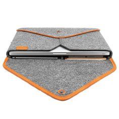 Macbook Pro 15'' Retina Sleeve Wool Felt Case For Macbook Pro 15 Inch Retina Macbook Case Chrismas Gift,Leather Edge Bag Envelope TopHome KK