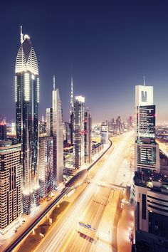 I don't know where this is. Dubai maybe? Looks like something from the future.