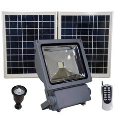 40 best solar flood lights images on pinterest sign lighting commercial grade solar flood lights with remote control aloadofball Image collections