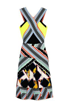 Bianca Dress by Peter Pilotto Now Available on Moda Operandi