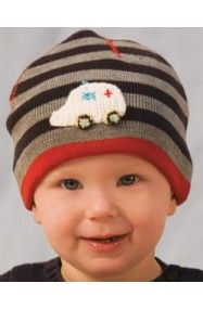 Themed beanies for babies and toddlers