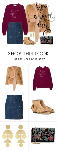 """..."" by vanny ❤ liked on Polyvore featuring Diane Von Furstenberg, Lingua Franca, Miu Miu, J.W. Anderson, Annie Costello Brown and Yves Saint Laurent"