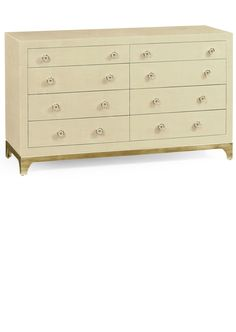 Luxury Designer Furniture, Contemporary Cream Lacquer & Gold Chest of Drawers, so beautiful, inspire your friends and followers interested in luxury interior design, with new trending accents from Hollywood courtesy of InStyle Decor Beverly Hills, Luxury Designer Furniture, Lighting, Mirrors, Home Decor & Gifts, over 3,500 inspirations to choose from and share with our simple one click Pinterest Pin button enjoy & happy pinning