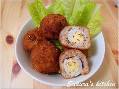 小版的蘇格蘭蛋,是日本媽媽常常幫孩子帶便當的料理喔,野餐也很適合!