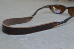 Horween Leather Sunglasses Strap (Chromexcel)