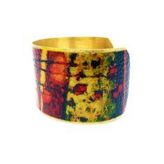 Unique Cuff Bracelet - Bracelet Art - Fine Art Bracelet - Art Cuff Bracelet - Gift for Mom - Gift for Wife - Cuffs for Women  with <3 from JDzigner www.jdzigner.com