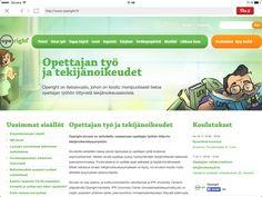 Tekijänoikeustietoa opetustyötä tekeville www.operight.fi