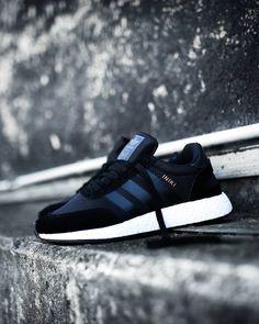 adidas Originals Iniki Runner Boost: Black Tênis Adidas, Bape, Adidas Originals, Jordan