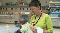 Volunteer to care for drug addicted newborns