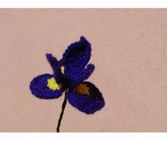 Free Crochet Iris Pattern