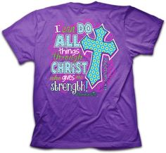 I Can Do All Things T-Shirt - Christian T-shirt