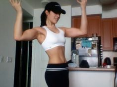 Kristen Adamson Lost 52lbs and 50% body fat with this workout and diet plan