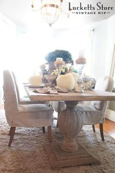 Fall tablescape   |   Old Lucketts Store - Design House