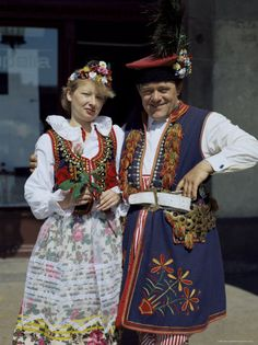 Marek swore that Polish people didn't wear funny outfits, but I have proof! lol