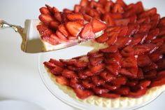 """Strawberry Tart:  """"I can't recommend this recipe enough – it lets the fruit shine without any added sugar, with a buttery crust and vanilla-infused pastry cream that almost steals the spotlight."""""""