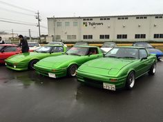 SA22C Mazda Familia, Green Cars, Power Cars, Import Cars, Japanese Cars, Jdm Cars, Cars Motorcycles, Vintage Cars, Automobile