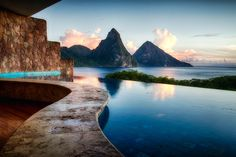 "Jade Mountain, St. Lucia - ""With a View"" by Andy Ruefenacht, via 500px."