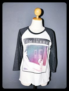The Lumineers Shirt T-Shirt Sleeved Baseball Tee Shirt Long Sleeve Shirt Women Shirts Men Unisex Size L from iRocker on Etsy. Saved to Clothes . Dress Attire, I Dress, Casual Outfits, Cute Outfits, Fashion Outfits, Long Sleeve Tee Shirts, T Shirt, Baseball Tee Shirts, Summer Wardrobe