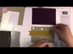 Tutorial: Madeira Swap Ziehkarte, gebastelt mit Material von Stampin' Up! - YouTube