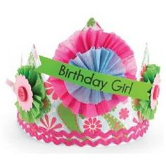 Crown Paper - Paisley - Birthday Girl