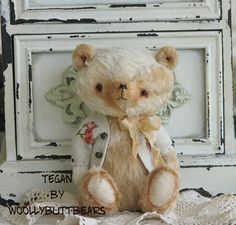 Tegan by Woollybuttbears 4.7 inches by Woollybuttbears on Etsy