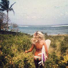 Run to the Beach