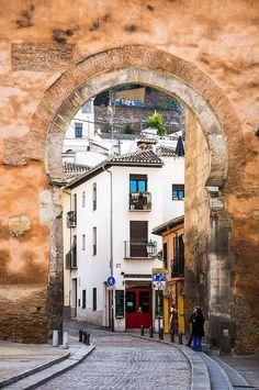 Puerta de Elvira in Granada - Andalusia, Spain New Travel, Spain Travel, Travel Style, Granada Andalucia, Andalusia Spain, Europe On A Budget, Spain And Portugal, Nevada, Travel Inspiration