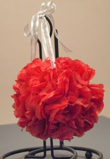 DIY Tissue Paper Pomanders