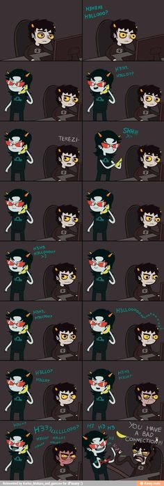 Why do I find this so funny? Apparently Karkat is Charlie the unicorn