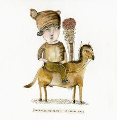 bobi bobi / sense holidays - horse vase